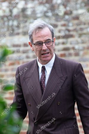Editorial photo of 'Granchester' TV series on set filming, Cambridge, UK - 11 Mar 2021