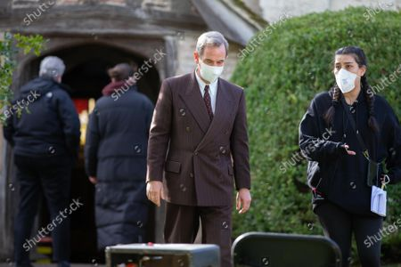 Editorial picture of 'Granchester' TV series on set filming, Cambridge, UK - 11 Mar 2021