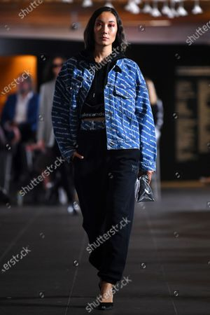 Editorial picture of T By Alexander Wang - Runway - Melbourne Fashion Festival, Australia - 11 Mar 2021