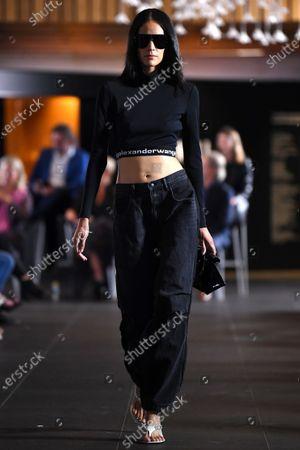 Editorial image of T By Alexander Wang - Runway - Melbourne Fashion Festival, Australia - 11 Mar 2021