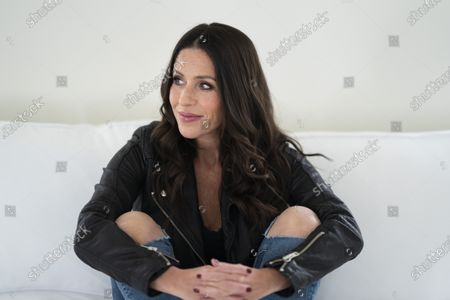 """Stock Photo of Soleil Moon Frye poses for a portrait in Los Angeles on to promote her documentary""""Kid 90,"""" premiering Friday, March 12 on Hulu"""