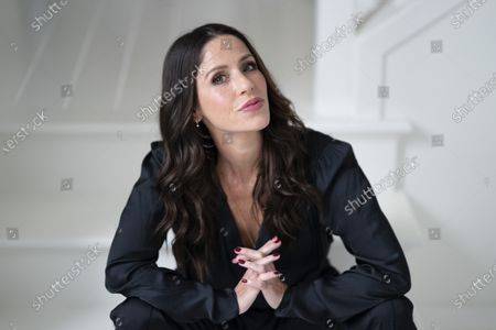 """Stock Image of Soleil Moon Frye poses for a portrait in Los Angeles on to promote her documentary""""Kid 90,"""" premiering Friday, March 12 on Hulu"""