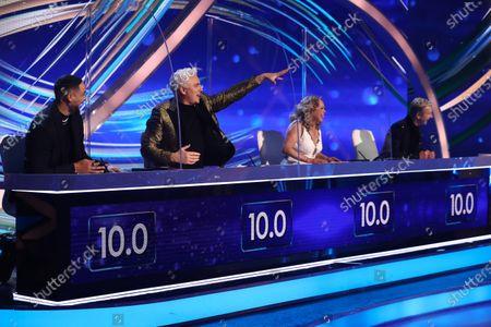 Ashley Banjo, John Barrowman, Jayne Torvill and Christopher Dean