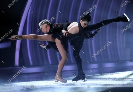 Editorial photo of 'Dancing On Ice' TV show, Series 13, Episode 8, Final, Hertfordshire, UK - 14 Mar 2021
