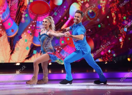 Editorial image of 'Dancing On Ice' TV show, Series 13, Episode 8, Final, Hertfordshire, UK - 14 Mar 2021