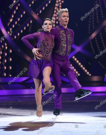 Faye Brookes and Matt Evers