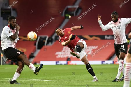 Editorial picture of Manchester United vs AC Milan, United Kingdom - 11 Mar 2021