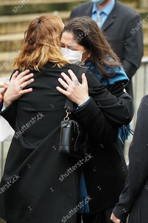 Editorial image of Patrick Dupond's funeral, Saint-Roch Church, Paris, France - 11 Mar 2021