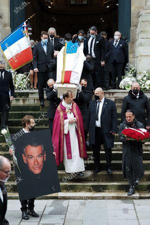 Editorial photo of Patrick Dupond's funeral, Saint-Roch Church, Paris, France - 11 Mar 2021