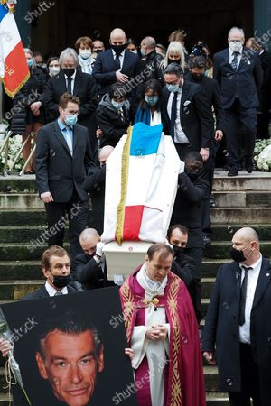 Editorial picture of Patrick Dupond's funeral, Saint-Roch Church, Paris, France - 11 Mar 2021
