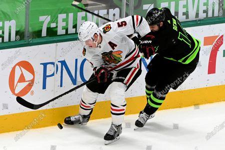 Editorial image of Blackhawks Stars Hockey, Dallas, United States - 11 Mar 2021