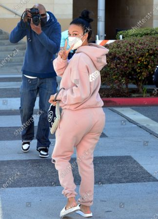 Editorial photo of Draya Michele out and about, Beverly Hills, Los Angeles, California, USA - 11 Mar 2021