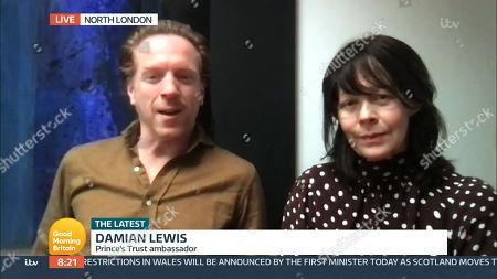 Editorial image of 'Good Morning Britain' TV Show, London, UK - 12 Mar 2021