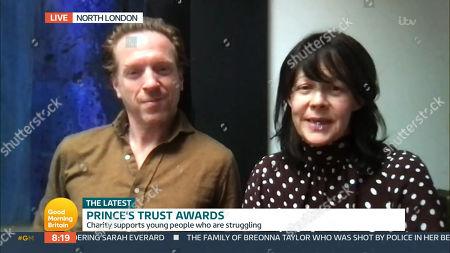 Editorial photo of 'Good Morning Britain' TV Show, London, UK - 12 Mar 2021