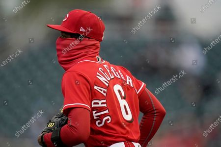 Editorial picture of White Sox Reds Spring Baseball, Goodyear, United States - 11 Mar 2021