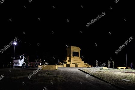 The General Baquedano Monument was removed from its base to be moved to an undisclosed location to be restored for approximately one year. The monument is located at ground zero of demonstrations against the government of Sebastian Pinera.