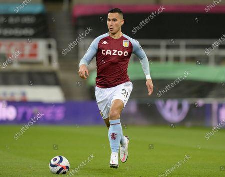 Anwar El Ghazi of Aston Villa