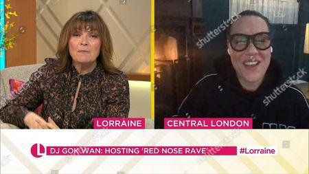 Editorial image of 'Lorraine' TV Show, London, UK - 12 Mar 2021