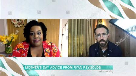 Alison Hammond and Ryan Reynolds