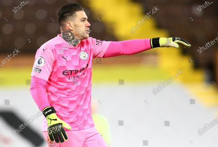 Stock Picture of Ederson Moraes of Manchester City