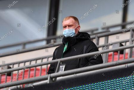 Editorial image of Portsmouth v Salford City, Papa John's Trophy 2020, Final, Football, Wembley Stadium, London, UK - 13 Mar 2021