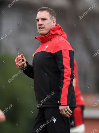 Editorial image of Wales Rugby Training - 12 Mar 2021