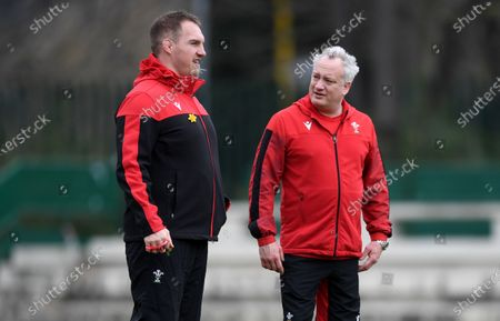 Editorial picture of Wales Rugby Training - 12 Mar 2021
