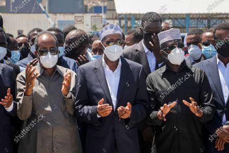 Editorial image of Virus Outbreak Former President, Mogadishu, Somalia - 12 Mar 2021