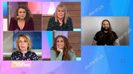Editorial image of 'Loose Women' TV Show, London, UK - 12 Mar 2021