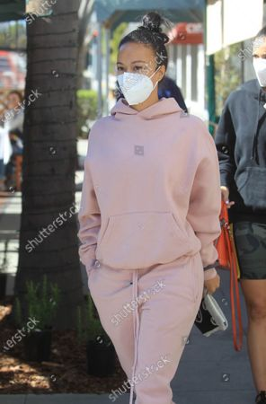 Editorial image of Celebrities out and about, Los Angeles, USA - 11 Mar 2021
