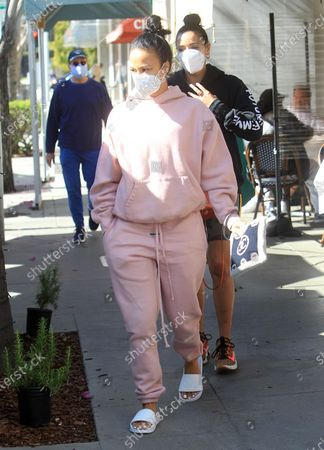 Editorial picture of Celebrities out and about, Los Angeles, USA - 11 Mar 2021