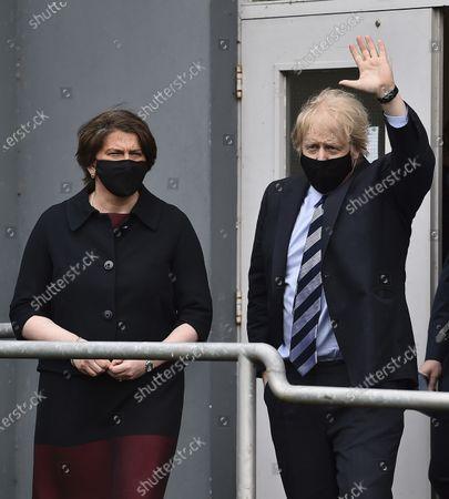 Editorial image of Northern Ireland Boris Johnson, Enniskillen, United Kingdom - 12 Mar 2021