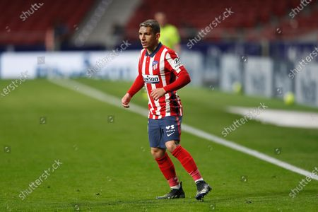 """Lucas Torreira (Atletico) - Football / Soccer : Spanish """"La Liga Santander"""" match between Club Atletico de Madrid 2-1 Athletic Club de Bilbao at the Estadio Wanda Metropolitano in Madrid, Spain."""