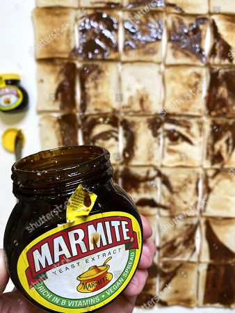 An artist has created the ultimate 'love or hate' collage - a portrait of Piers Morgan drawn with Marmite on toast. The impressive work was made by spreading a jar of the yeast extract spread onto 35 slices of toast, and took three painstaking hours to complete.Morgan, 55, quit ITV's flagship breakfast show Good Morning Britain this week after storming out when his comments about Meghan, Duchess of Sussex again polarised opinion. Ofcom received over 41,000 complaints from viewers, including a complaint from the Duchess of Sussex herself.