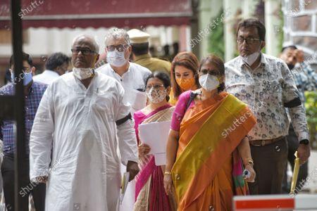 Editorial photo of TMC, BJP Delegations Meet EC Over Nandigram Incident, New Delhi, Delhi, India - 12 Mar 2021