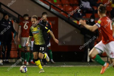 Editorial picture of Walsall v Barrow, UK - 12 Mar 2021