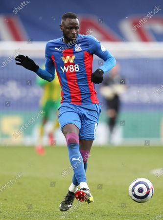 Football - 2020 /2021 Premier League - Crystal Palace vs West Bromwich Albion - Selhurst Park Cheikhou Kouyate of Crystal Palace