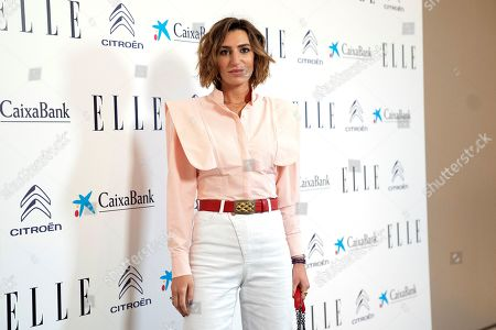 Editorial image of Elle Women Awards, Madrid, Spain - 12 Mar 2021