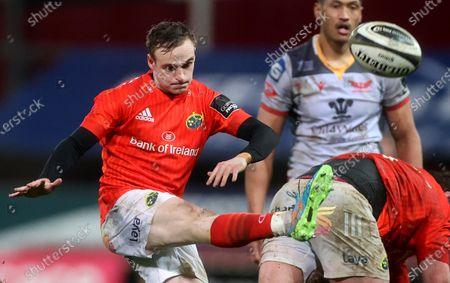 Munster vs Scarlets. Munster's Nick McCarthy