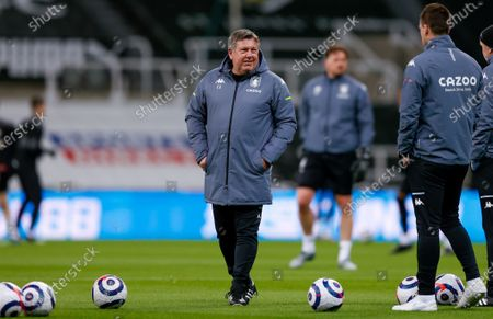 Craig Shakespeare during the Premier League match between Newcastle United and Aston Villa at St. James's Park, Newcastle
