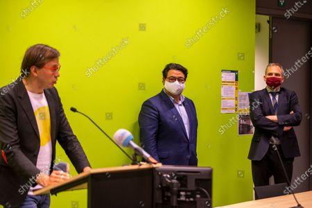 Editorial image of Politics Pc Flemish Government Gravensteen, Gent, Belgium - 12 Mar 2021