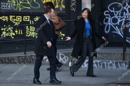 Editorial image of Donnie Wahlberg and Marisa Ramirez out and about, New York City, New York, USA - 12 Mar 2021
