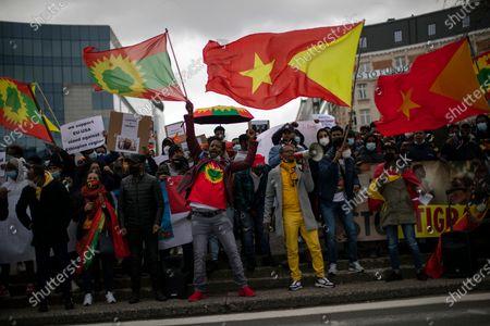 Editorial picture of Ethiopia Tigray, Brussels, Belgium - 12 Mar 2021