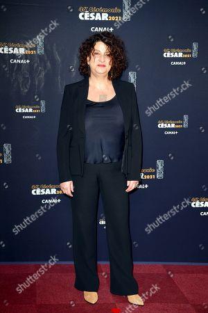 Editorial image of 46th Cesar Film Awards, Red Carpet, Paris, France - 12 Mar 2021