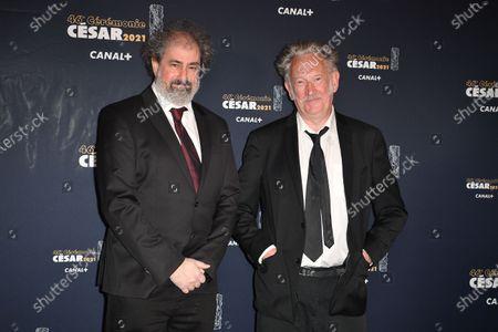 Editorial photo of 46th Cesar Film Awards, Red Carpet, Paris, France - 12 Mar 2021