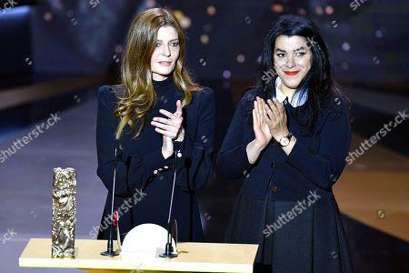Stock Photo of Chiara Mastroianni and Marjane Satrapi