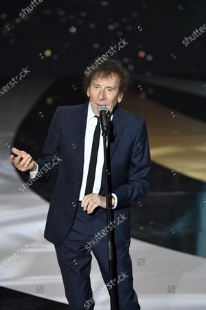 Stock Photo of Alain Souchon