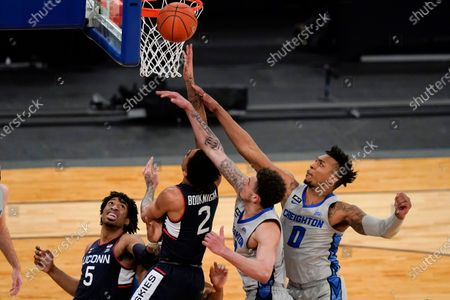 Editorial picture of BEast Creighton UConn Basketball, New York, United States - 12 Mar 2021