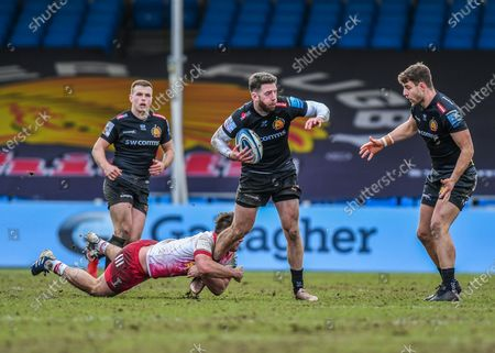 Editorial photo of Exeter Chiefs v Harlequins, Gallagher Premiership Rugby - 13 Mar 2021