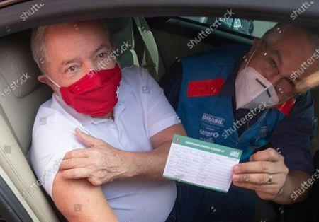 Editorial picture of Virus Outbreak Ex President, Sao Bernardo Do Campo, Brazil - 13 Mar 2021